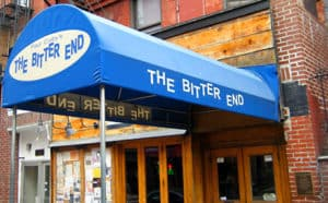 The Bitter End Sign Board