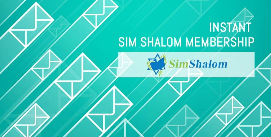 Sim Shalom Instant Membership